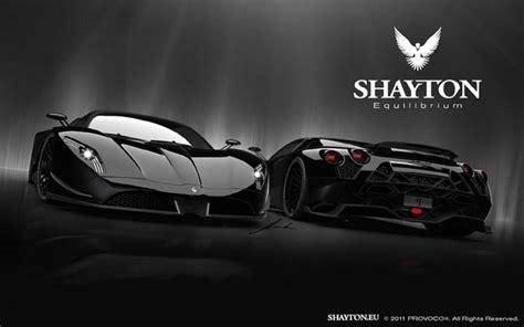 Shayton Equilibrium Supercar Black   Desktop Backgrounds