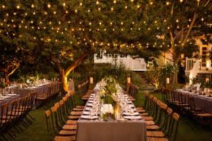 Shabby Chic Chandeliers Cheap by Evening Garden Wedding Reception Evening Garden Wedding