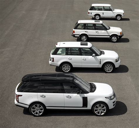 best range rover year range rover generations meet for the model s 45th