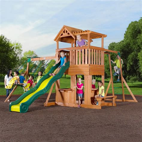 Swingsets And Playsets Nashville Tn Thunder Ridge Swing Set