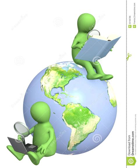 Search For Information On Information Search Stock Illustration Image Of Earth 25166786