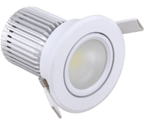 dimmer led len 10w cob frosted lens downlight designed architectural