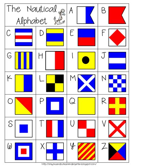 free nautical printable letters crayons cuties in kindergarten 4th of july blog hop