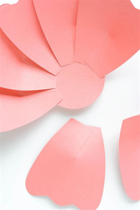 diy paper flower template paper flower centerpiece a pumpkin and a princess