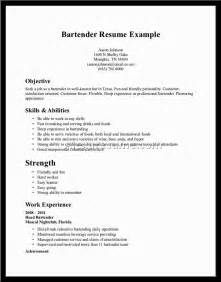 creative resume objectives resume objective for bartending job ebook database gallery for gt creative marketing resumes