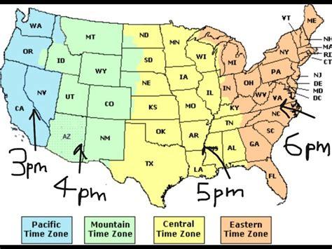 time chart sle printable usa time zone map with state names printable us