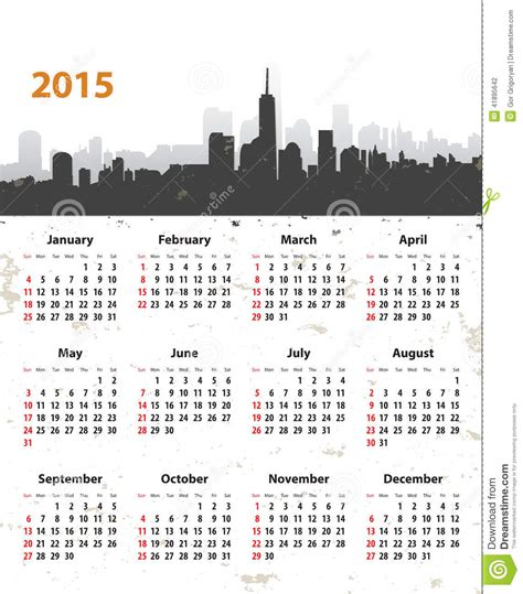 what date does new year start 2015 2015 year stylish calendar on cityscape grunge background
