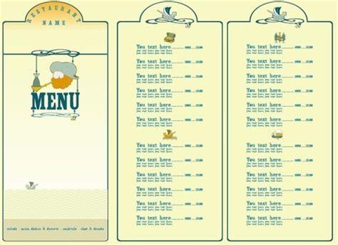 design of menu list food menu list design background free vector download