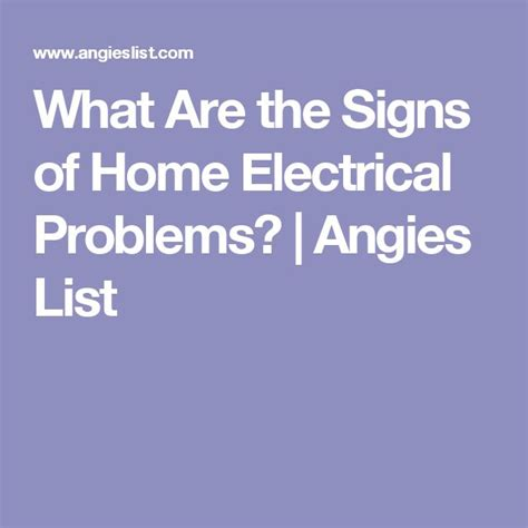 1000 ideas about electrical problems on