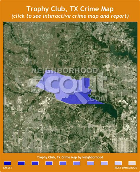 trophy club texas map trophy club crime rates and statistics neighborhoodscout
