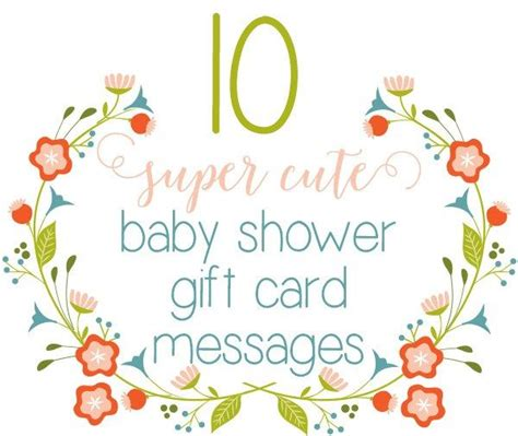 Best Gift Card For New Baby - 15 best new baby gift card messages images on pinterest gift certificates new