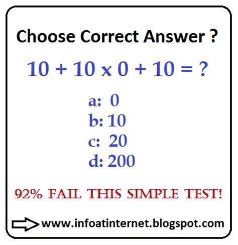 INFORMATION AT INTERNET: Choose the Correct Answer!