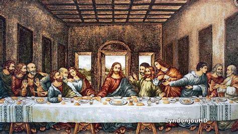 el mensaje oculto en el cuadro la 250 ltima cena de leonardo - Cuadro La Ultima Cena Da Vinci