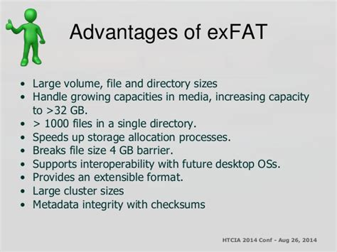 format exfat allocation size htcia an introduction to the microsoft ex fat file system