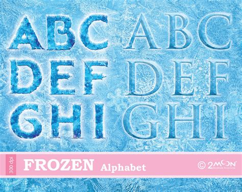Printable Frozen Font | 9 best images of frozen disney printable letters frozen