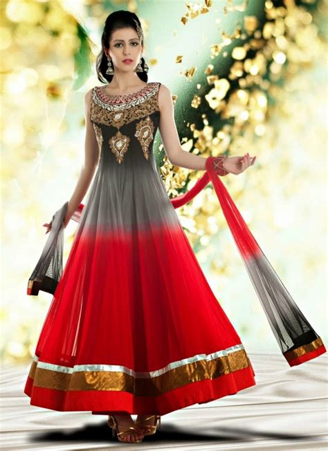 hairstyles for party frocks latest indian party wear dresses styles for girls 2017 14