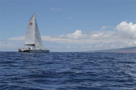 private catamaran hawaii private charter sail maui