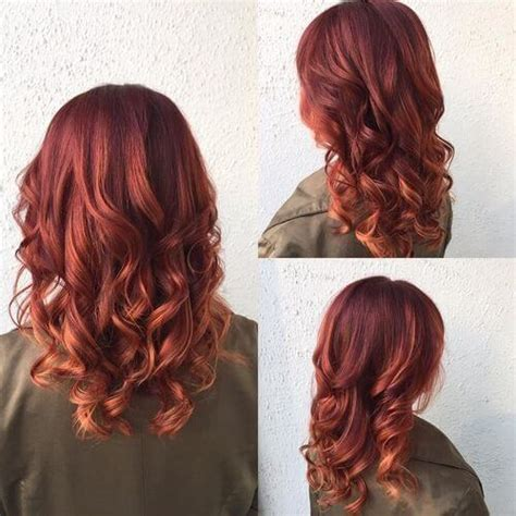 best place for balayage in austin best place for balayage hair austin sunset red balayage