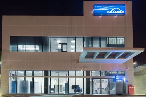 linde establishes  electronics  center  taiwan