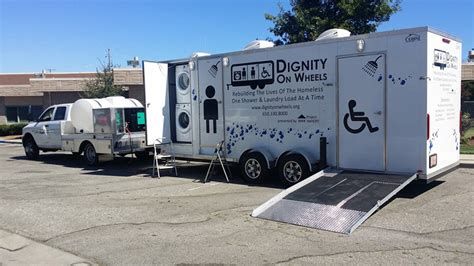 Mobile Showers For The Homeless by Sunnyvale Welcomes Mobile Showers For The Homeless San