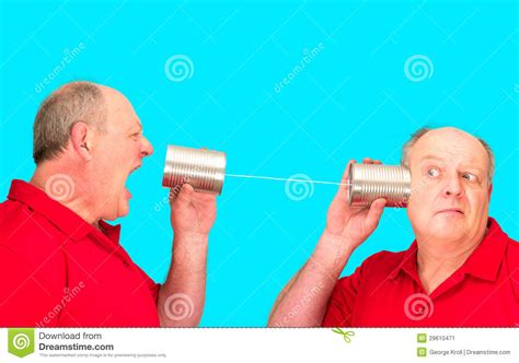 Kitchen And Bath Designers tin can string telecommunications stock image image