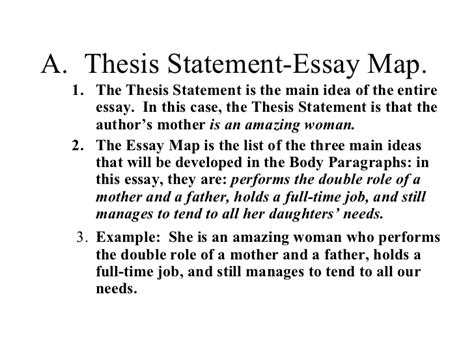 Thesis Statement For Essay by Essay Map In Thesis Statement Driverlayer Search Engine