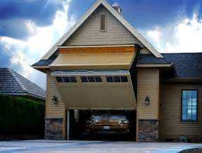 One of a kind rv garage 8 foot tall door that your rv can fit through