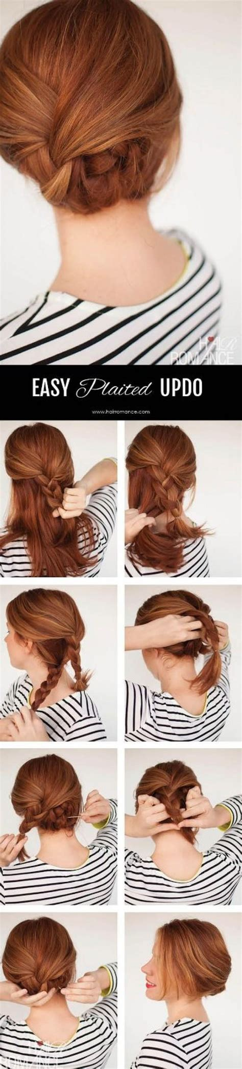 Easy Braided Hairstyles For Beginners by 13 Simple Braided Hairstyles For Beginners 2467933 Weddbook