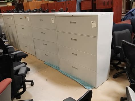 used 4 drawer lateral file cabinet used steelcase 4 drawer lateral file cabinet putty