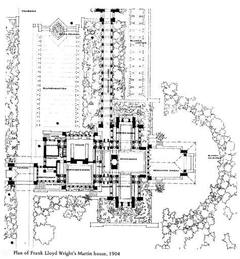Marvelous Frank Lloyd Wright Inspired House Plans #3: Martin%20House%20Plan%20LARGE.jpg