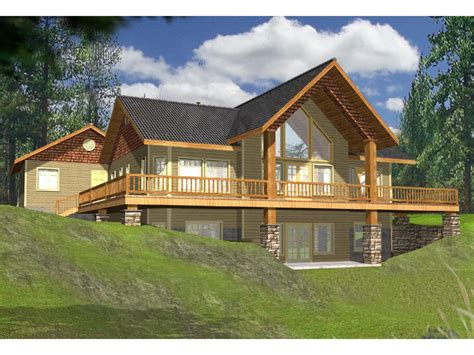 rear view house plans lake house plans with rear view lake house plans with wrap