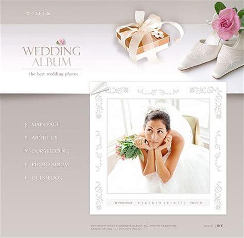 template 14188 beautiful flash wedding website template