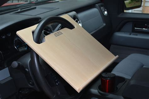 Car Laptop Desk Auto Car Laptop Tablet Notepad Steering Wheel N Desk Vehicle Tray Stand Ebay
