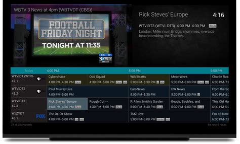 tv guide for android tv guide android 28 images iplayer radio now available on android haystack tv adds live