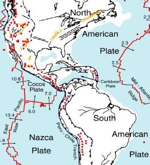 What if the big Plate at the Top of S. America Connected