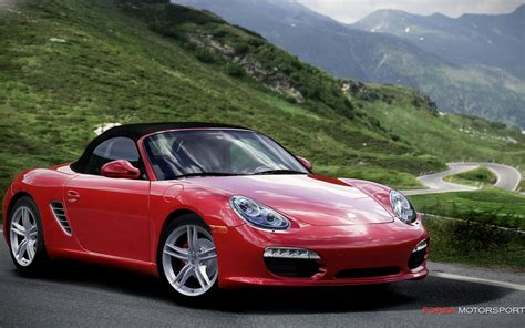 porsche with tree 2010 porsche boxster front three quarter photo 3
