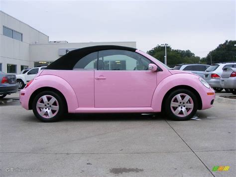 convertible volkswagen 2006 2006 custom pink volkswagen new beetle 2 5 convertible