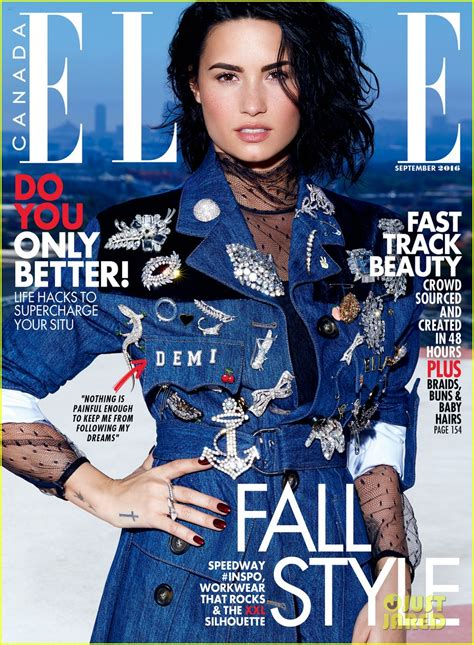 Is Elles September 2008 Cover by Demi Lovato Slays The September 2016 Cover Of Canada
