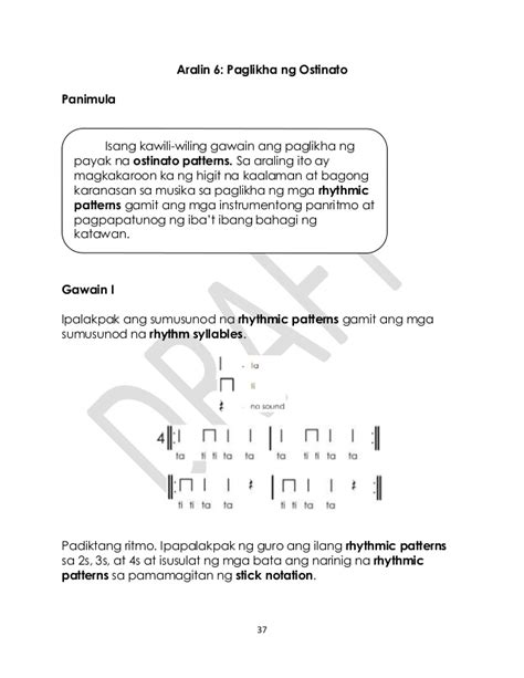 pattern meaning in tagalog music gr 3 tagalog q1