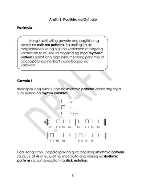 pattern meaning tagalog music gr 3 tagalog q1