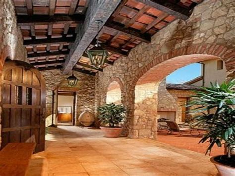 tuscan style homes interior the beautiful stone work homes tuscan style pinterest