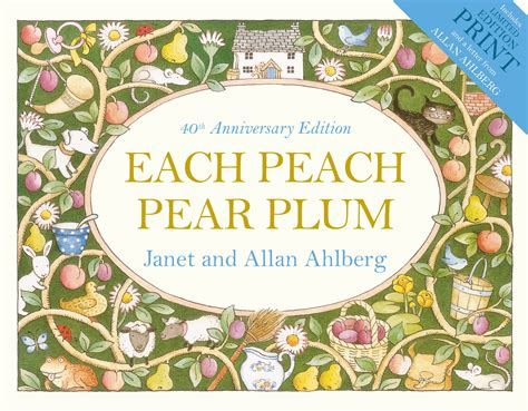 each peach pear plum b00cbn6b9s each peach pear plum by allan ahlberg penguin books new zealand