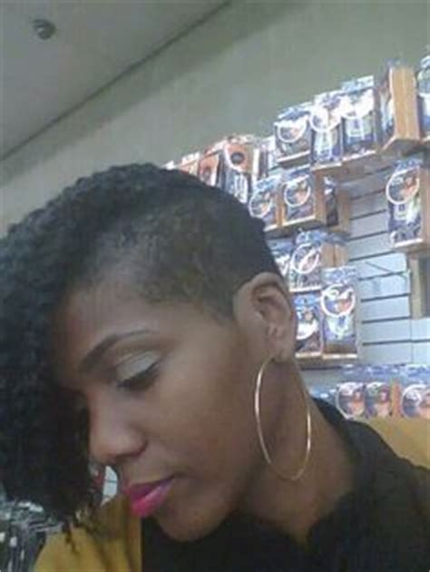 shaved sides with kanekalon twists protect ur mane on pinterest crochet braids shaved