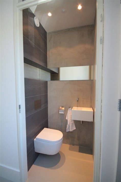 very modern bathrooms beton look toilet pinterest powder room toilet