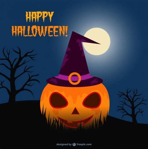 tarjeta animada para halloween halloween tarjetas plantilla tarjeta de halloween descargar vectores gratis
