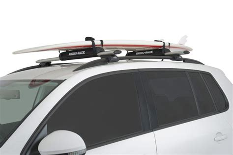 How To Put Surfboard On Roof Rack by Rhino Rack Roof Rack Pads Free Shipping On Rhino Rack