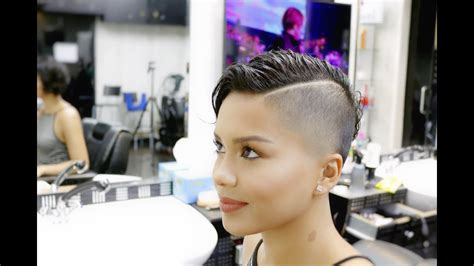 first time womens fade haircut gorgeous hairstyle for women fade haircut and hair style