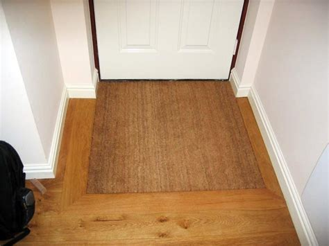 Inset Door Mats by Boot Room Silver Spray