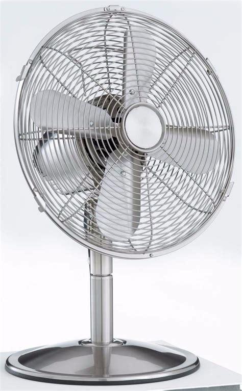 Sunair 30cm Retro Stainless Steel Desk Fan Ebay