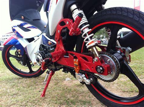 Swing Arm Smash honda wave dash modified by racing boy motomalaya